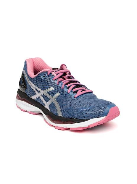 ASICS Women Blue Running Shoes