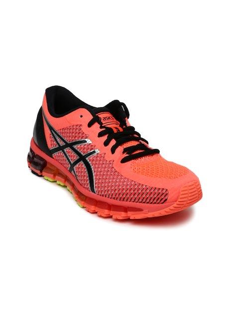 ASICS Women Neon Orange Gel-Quantum 360 2 Running Shoes