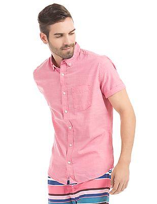 Aeropostale Button Down Short Sleeve Shirt