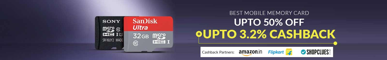 Mobile Memory Card Price Upto 50 Off Offers Upto 3 2 Cashback