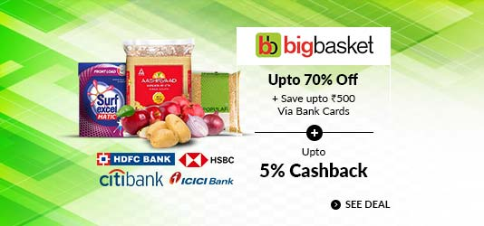 BigBasket Offers Today