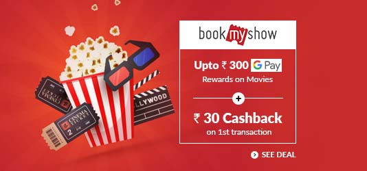 Bookmyshow Offers Today
