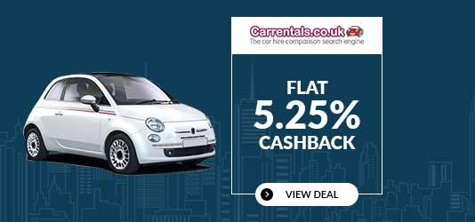Get FLAT 5.25% Cashback