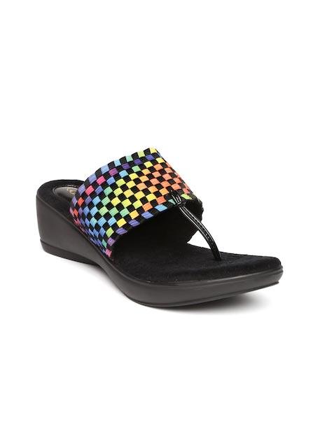 Catwalk - Wedge - Catwalk Women Multicoloured Woven Design Wedges