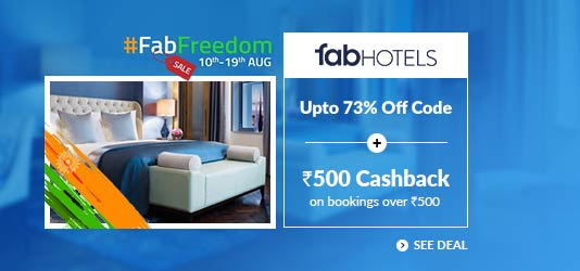 FabHotels Offers Today