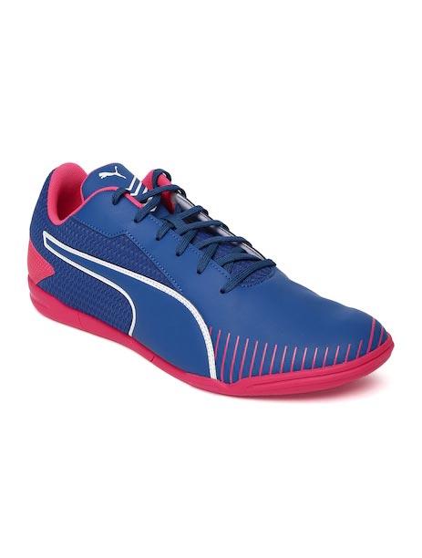 Puma Men Blue 365 CT Indoor Football Shoes