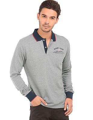 Gant Solid Regular Fit Polo Shirt