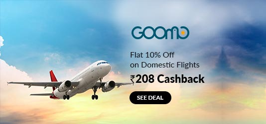 Goomo Flights Coupons