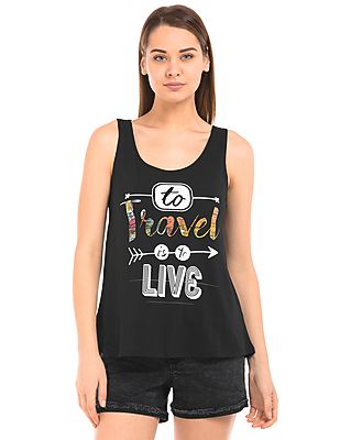 Women Graphic Print Cotton Tank Top