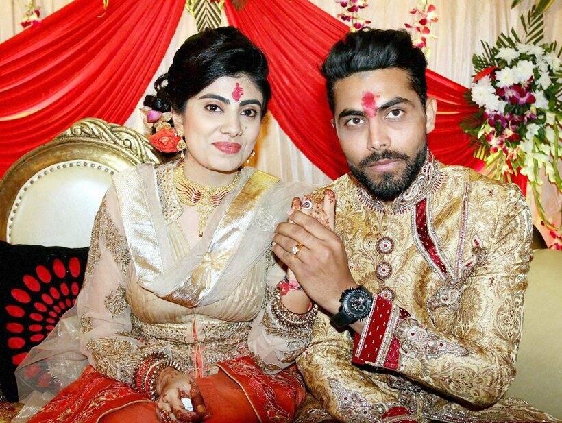 Ravindra Jadeja gets engaged to Reeva Solanki