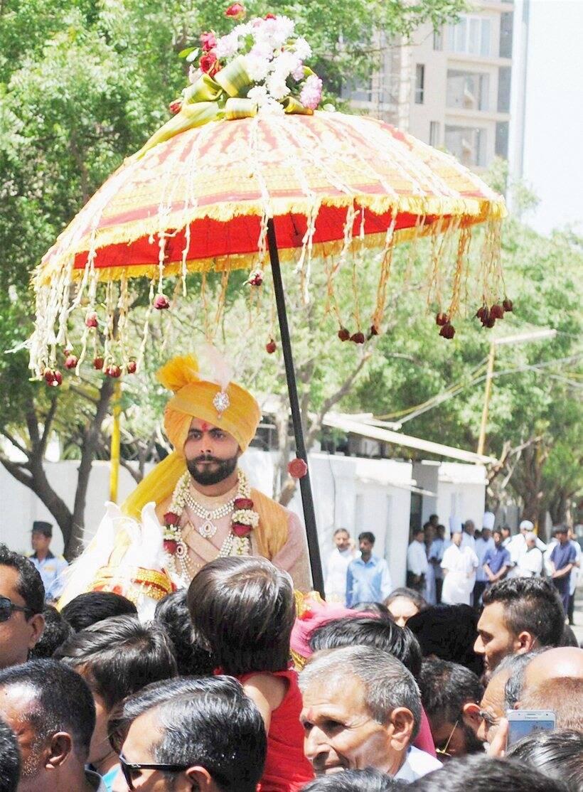 Ravindra Jadeja Marriage Photos