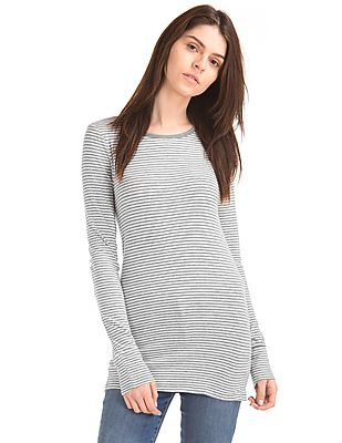 GAP Long Sleeve Stripe Tunic Tee