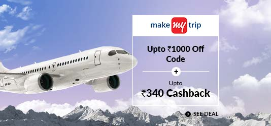 MakeMyTrip Domestic Flights Offers Today