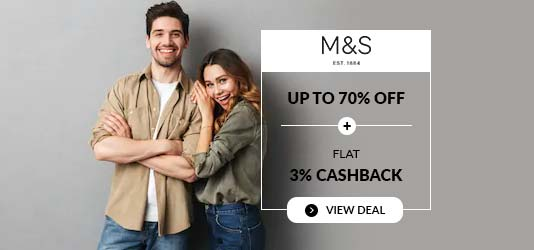 Marks and Specner Discount Code
