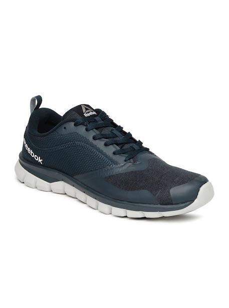 Reebok Men Navy Sublite Authentic 4.0 Running Shoes