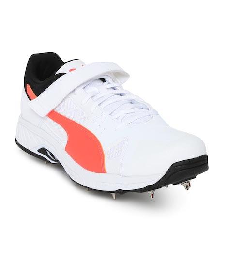 Puma Men White evoSPEED Cricket Shoes