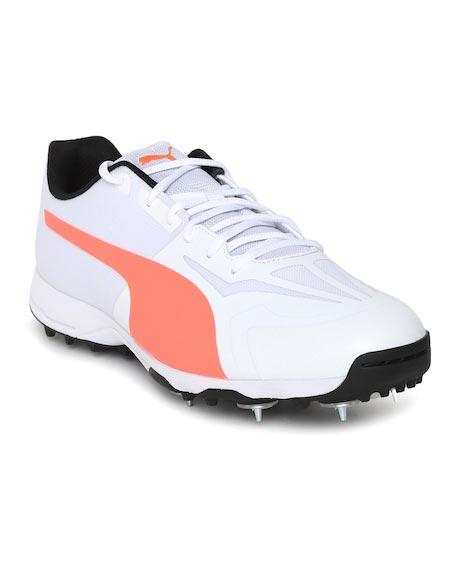 Puma Men White evoSPEED 360.1 Cricket Shoes