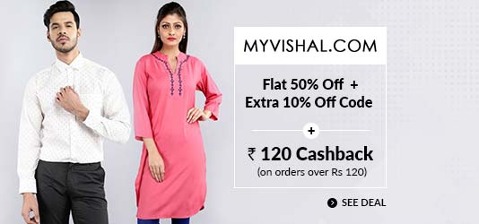 MyVishal Offers Today