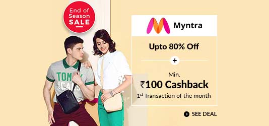 Coupons, Promo Codes & Cashback Offers on 1500+ Sites - CashKaro