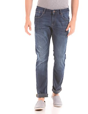 Nautica Mid Rise Tapered Fit Jeans