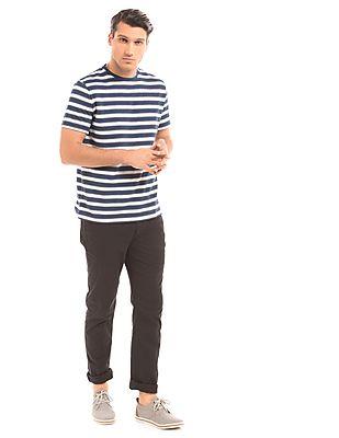 Nautica Slim Fit Striped T-Shirt