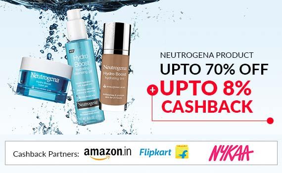 Get 42 Off Cashback Neutrogena Price List Cashkaro Com