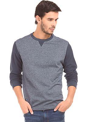 Nautica Patterned Knit Slim Fit T-Shirt