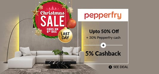 Pepperfry Offers Today
