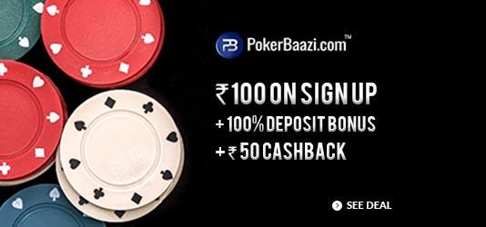 PokerBaazi Offers Today