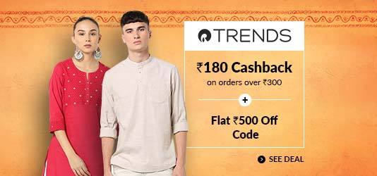 Reliance Trends Offers Today