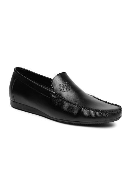 San Frissco Men Black Semiformal Slip-Ons