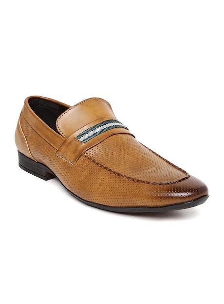 San Frissco Men Brown Semiformal Slip-Ons