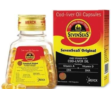 Seven Seas Original Cod Liver Oil Capsules