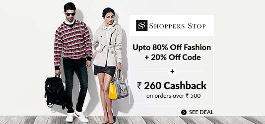 ShoppersStop Offers Today