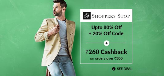 Shoppers Stop Offers Today