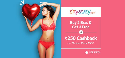 Shyaway Offer Today