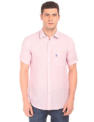 U.S. Polo Assn. Solid Tailored Fit Shirt