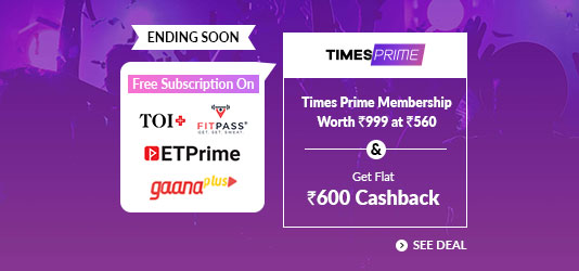 Times Prime Offers Today