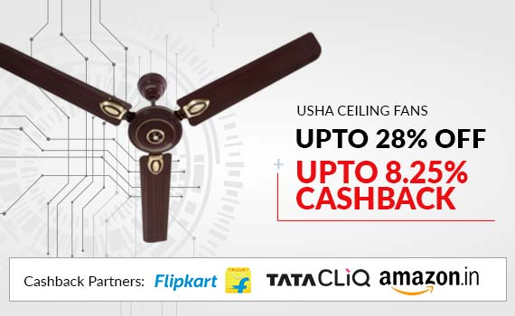 Usha Ceiling Fans Online Price List Offers India 28 Discount