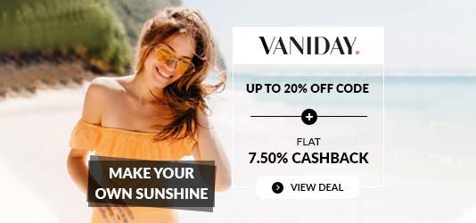 Vaniday Promo Code