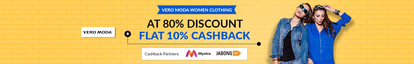05482fde Vero Moda Sale Price List, Offers: Upto 80% Off + Upto 10% Cashback