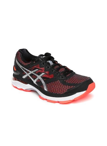 ASICS Women Black GT-2000 4 Running Shoes