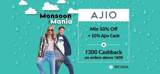 Ajio Offers Today
