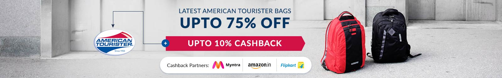 0a52a9b12a American Tourister Bags Price In India: 75% Off Offers + 10% Cashback, 2019