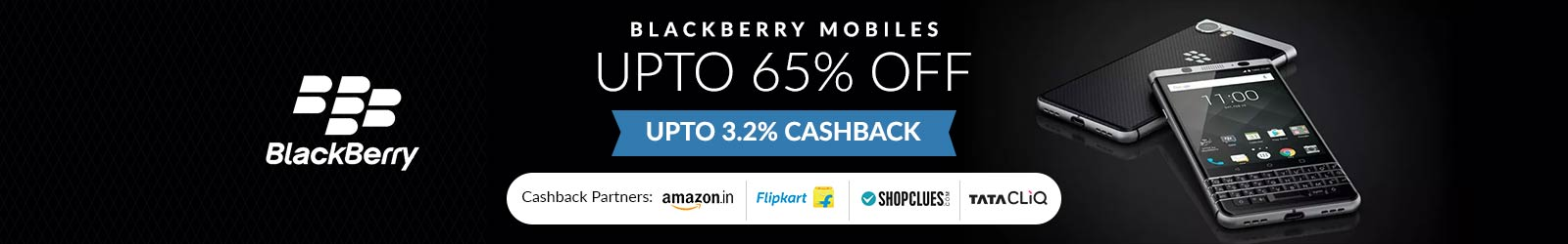Blackberry Mobile Price List India: 65% Off Offers on All Blackberry