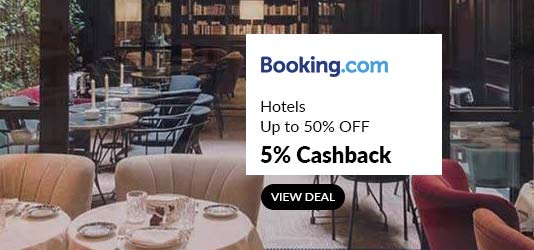 booking.com promo code