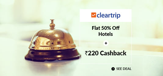 Cleartrip Hotels Coupons