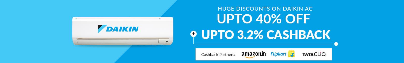 936cd2770dd Daikin AC Online Price List India  Upto 50% Off Offers