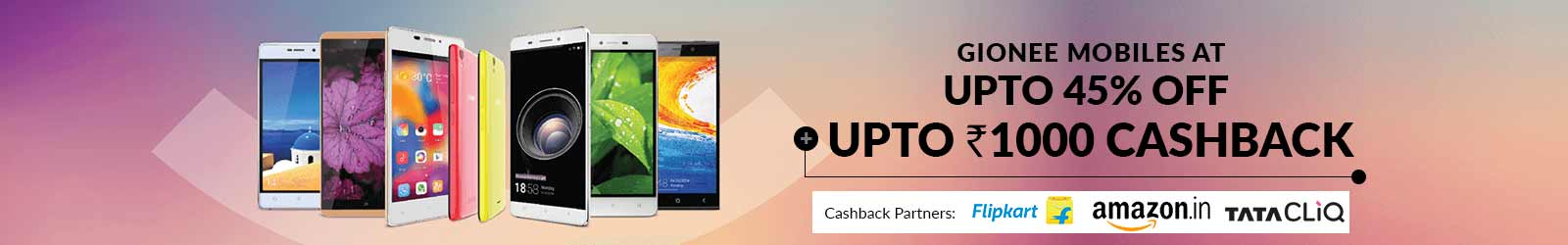Gionee Mobile Price List India: 45% Off Offers on All Gionee