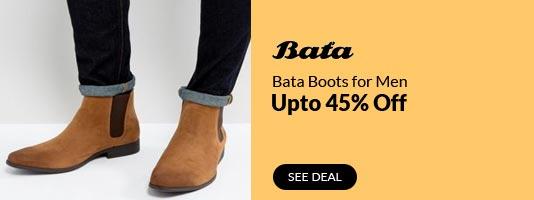 Bata Men Boots